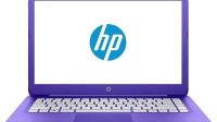 "Foto Informática - Laptop HP Stream 14"" Windows 10 Intel N4000 4gb RAM 32gb SSD Purple"